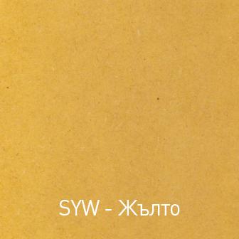 Цветен панел МДФ Жълто